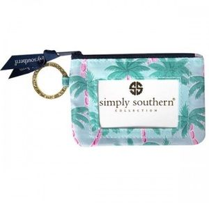 NWT • Simply Southern • Palms Key ID Pouch